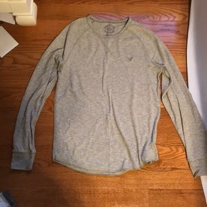 Perfect condition gray/oatmeal colored shirt